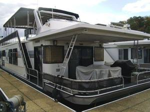 Used Sumerset 16 X 74 Houseboat House Boat For Sale