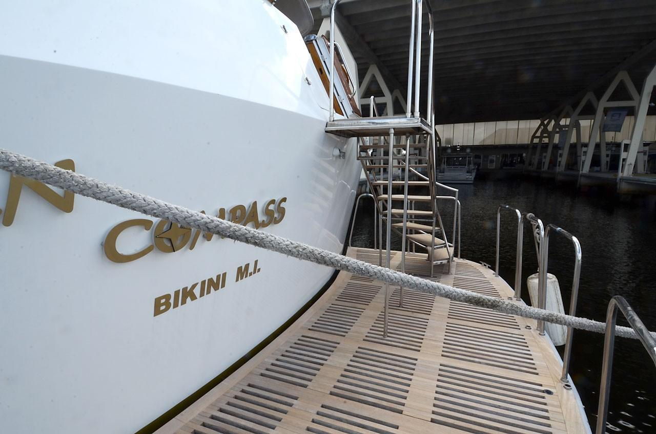 1980 Used Picchiotti TRI Deck Motor Yacht Motor Yacht For Sale ...