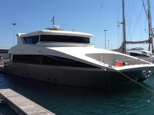 Used Catamaran Custom Power Catamaran Boat For Sale