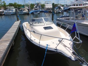 Used Key West 2220WA Bluewater2220WA Bluewater Walkaround Fishing Boat For Sale