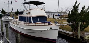 Used Grand Banks 42 Trawler Boat For Sale