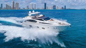 Used Ferretti Yachts 800 Flybridge Boat For Sale