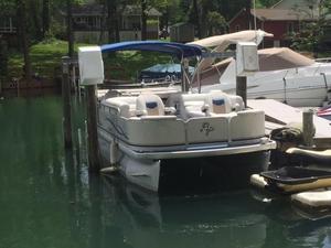 Used Aqua Patio 240 LC Pontoon Boat For Sale