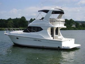 Used Silverton Custom 34C Sedan/convertible Fishing Boat For Sale