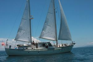 Used Colin Wild Custom Center-cockpit Pilothouse Ketch Cruiser Sailboat For Sale