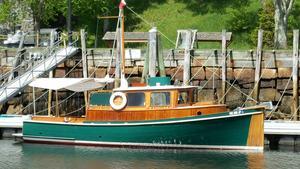 Used Bill Garden Troller Style Cruiser Trawler Boat For Sale