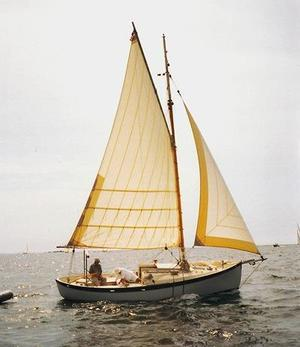 Used Gartside - French & Webb Double-ended CB Trailerable Sloop Cruiser Sailboat For Sale
