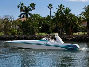 Used Black Thunder Diesel High Performance Boat For Sale