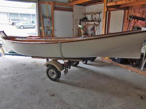 Used White Hall 16' Sailing Boat Antique and Classic Boat For Sale