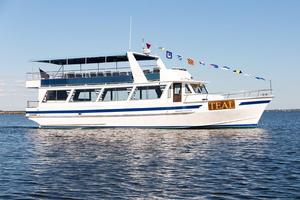 Used Lydia Dinner Boat Commercial Boat For Sale