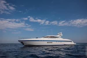 Used Mangusta 92 Express Cruiser Boat For Sale