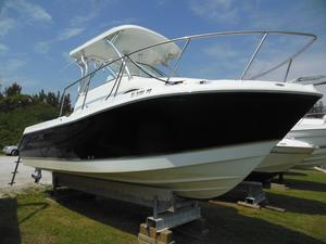 Used Polar 2300 Walkaround Cuddy Cabin Boat For Sale