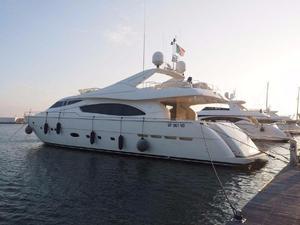 Used Ferretti Yachts 880 Motor Yacht For Sale