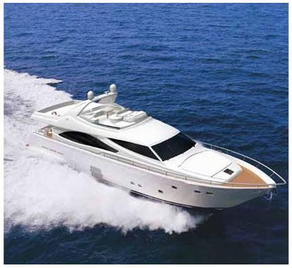 Used Ferretti Yachts 830 Flybridge Boat For Sale