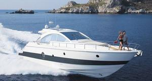 Used Aicon 62 Express Cruiser Boat For Sale