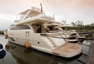 Used Leonard 66 Flybridge Boat For Sale