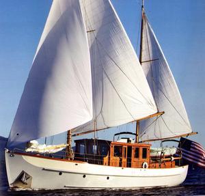 Used Alden Motor Sailer Motorsailer Boat For Sale