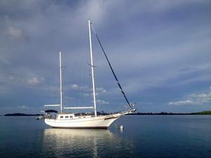 Used Island Trader Raised Salon Ketch Cruiser Sailboat For Sale