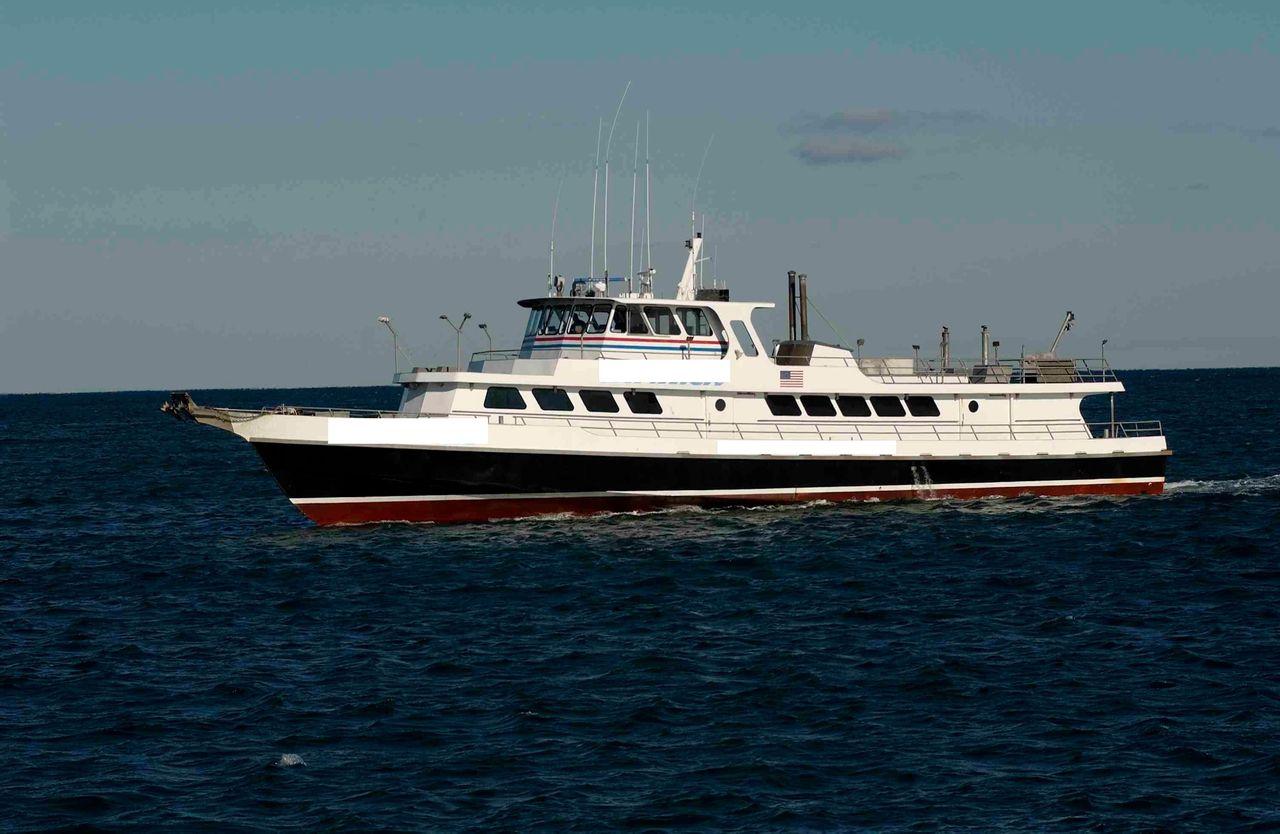1977 Used Derecktor Custom Charter Commercial Boat For Sale