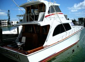 Used Tiffany 62 Custom Sportfish Convertible Fishing Boat For Sale