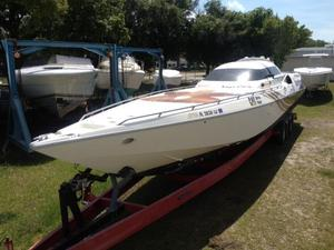 Used Cougar Offshore Racing Hull High Performance Boat For Sale