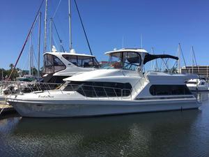 Used Bluewater Yachts 510 Coastal Cruiser Motor Yacht For Sale