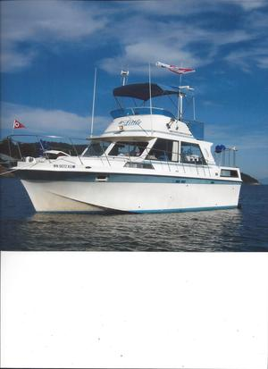 Used Uniflite Double Cabin Aft Cabin Boat For Sale