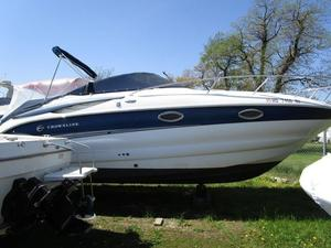 Used Crownline 250C CR250C CR Bowrider Boat For Sale