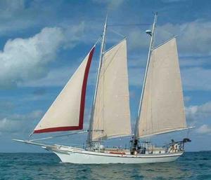 Used Kasten-Bos & Carr Steel Schooner Cruiser Sailboat For Sale