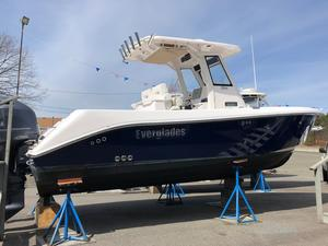 Used Everglades 250cc Center Console Fishing Boat For Sale