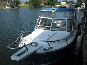 Used Shamrock 260 Predator Cuddy Cabin Boat For Sale