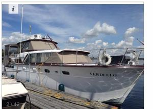 Used Chris-Craft Constellation (live Aboard) Motor Yacht For Sale