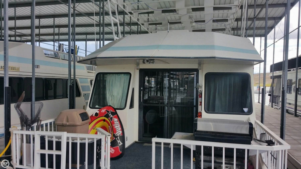 Used Fun Country 59 x 14 Deluxe House Boat For Sale