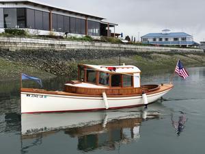Used Elliott Bay 24 Launch Trawler Boat For Sale