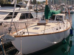 Used Roberts 44 Pilothouse Motorsailor Pilothouse Sailboat For Sale
