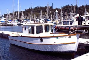 Used Devlin 22 Surf Scoter Commercial Boat For Sale