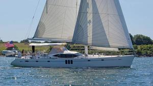 Used Oyster 625 Deck Saloon Cruiser Sailboat For Sale