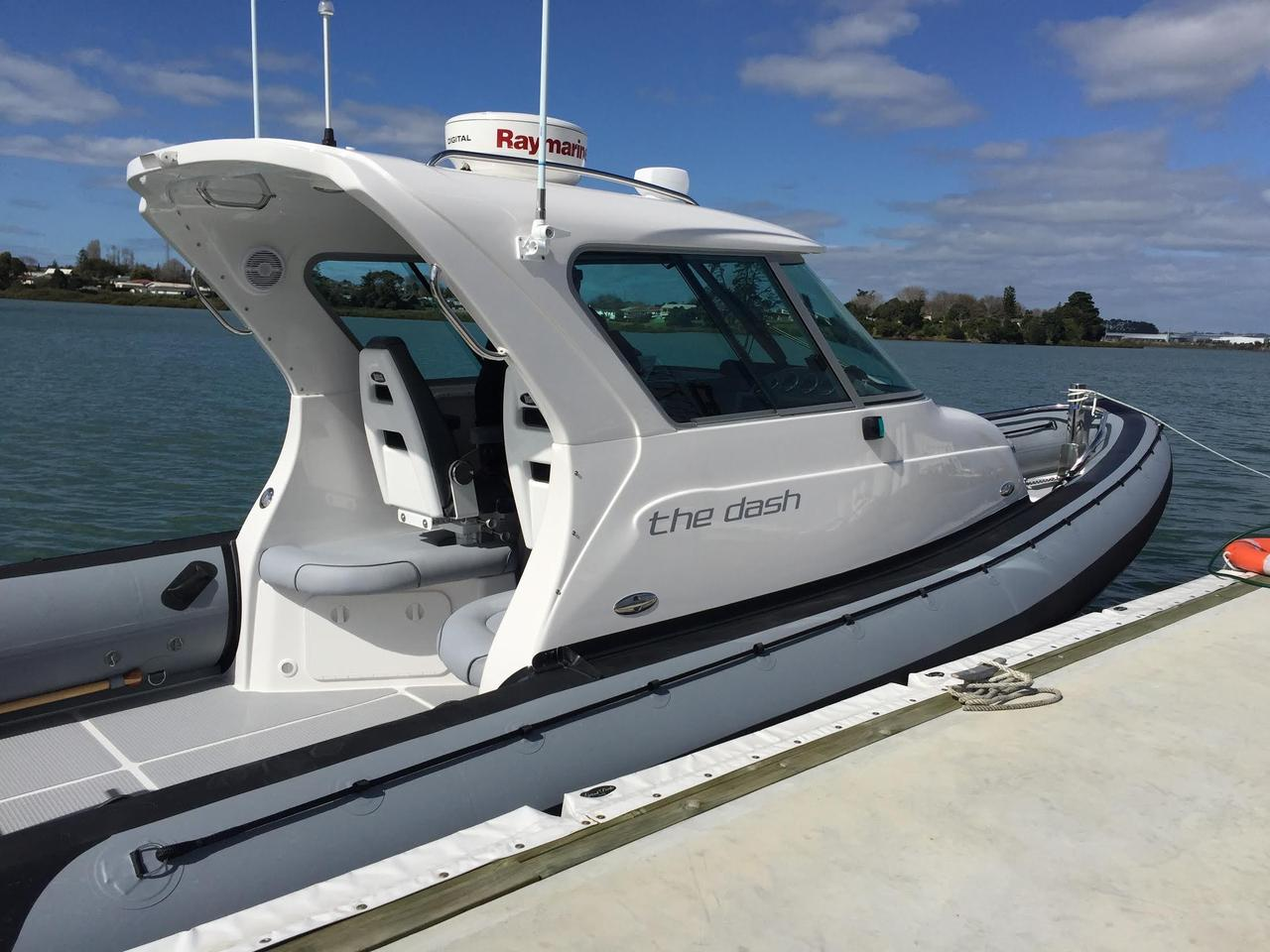 2016 Used Protector Targa 30 Rigid Sports Inflatable Boat For Sale