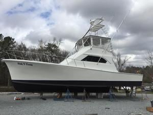 Used Young And Gray 51 Convertible Fishing Boat For Sale