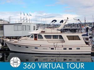 Used Defever 60 Flush Deck Trawler Cruiser Boat For Sale