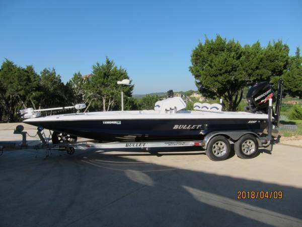 Used Bullet 22 SF22 SF Flats Fishing Boat For Sale