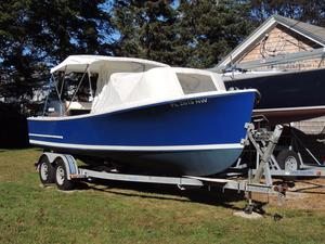 Used Sisu 22 Center Console Fishing Boat For Sale