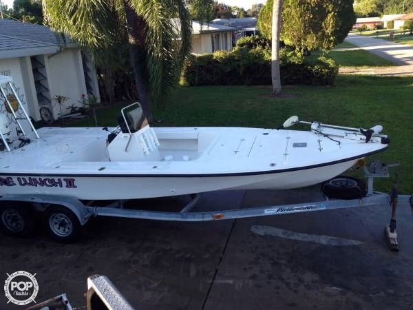 2001 used sea fox 200 flats fishing boat for sale for Used fishing boats for sale in florida