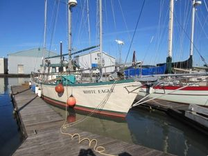 Used Colvin Pilothouse Schooner Sailboat For Sale