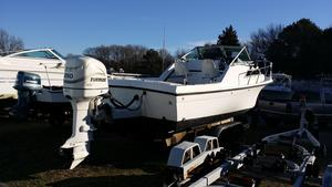 Used Wellcraft 25 Sportsman Sports Fishing Boat For Sale
