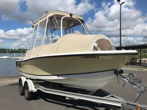 Used Mako 184 CC184 CC Saltwater Fishing Boat For Sale