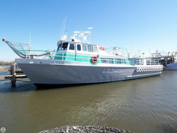 Used Stewart Seacraft 64 Crew Boat with 2013 engines Crew Boat For Sale
