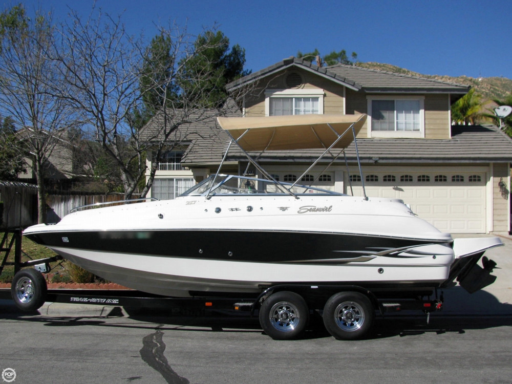 Used Seaswirl 22 Deck Boat For Sale