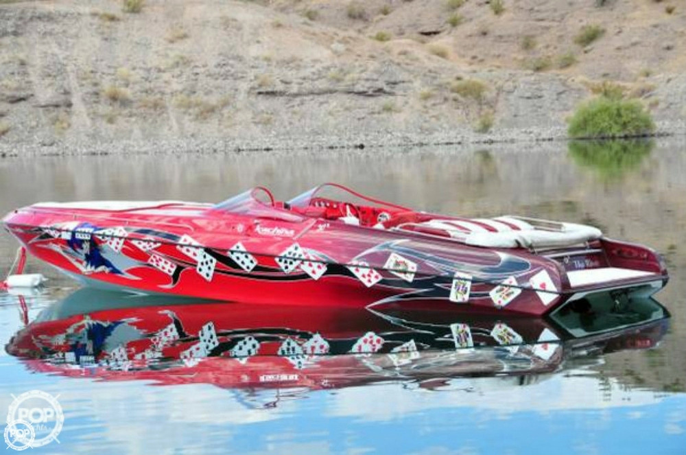 Used Kachina 30 Drone Open Bow High Performance Boat For Sale