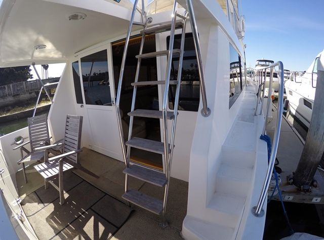 2003 used ocean alexander 510 classic pilot house for Classic house 2003